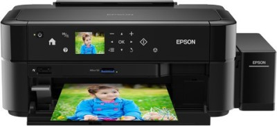 Epson L810 Ink Tank Multi-function Color Printer(Black, Refillable Ink Tank)
