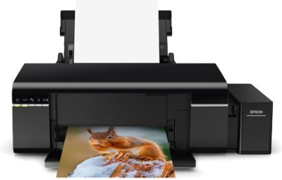 Epson L805 Single Function WiFi Color Printer Black, Refillable Ink Tank Epson Single Function Printers