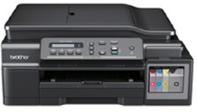 Brother DCP-T700W Multi Function Inktank Printer Multi-function Printer(Black, Refillable Ink Tank)