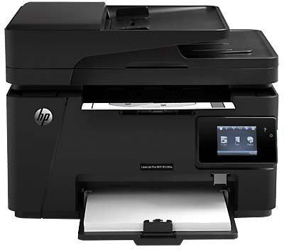 HP M128fw Multi-function Printer(Black, Toner Cartridge)