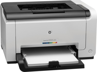 HP LaserJet Pro CP1025 Single Function Color Printer White, Toner Cartridge HP Single Function Printers