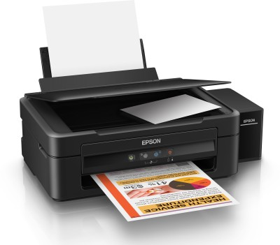 Epson L220 Multi-function Inkjet Printer(Black, Refillable Ink Tank) at flipkart