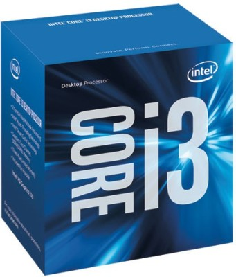 Intel 3.7 GHz LGA 1151 i3 6100 Processor(Silicon)  available at flipkart for Rs.10500