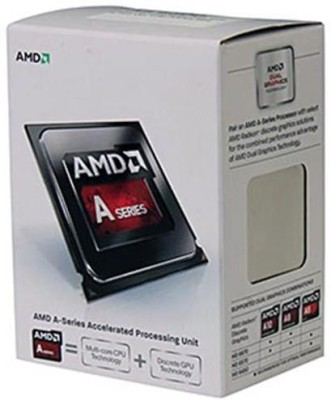 AMD 4.0 GHz FM2 A4 6320 Processor(Silver)