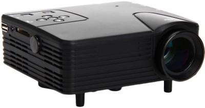 Wonder World GoPro™ LED LCD Mini Home Theater Movie Cinema HD 1080P HDMI VGA AV Portable Projector(Black)
