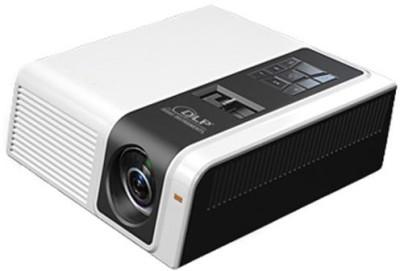 Devizer Gladioulus Portable Projector(White, Black)