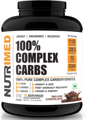 Nutrimed 100% Complex Carbs (2.27Kg / 5lbs, Chocolate)