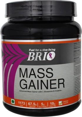 Brio Mass Gainer (500gm, Banana)