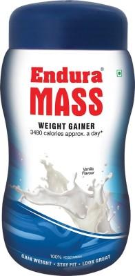 Endura Mass Weight Gainer (1Kg, Vanilla)