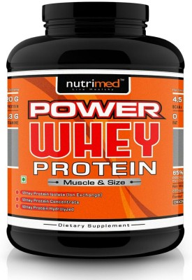 Nutrimed Power Whey Protein (2.26Kg / 4.98lbs, Chocolate)