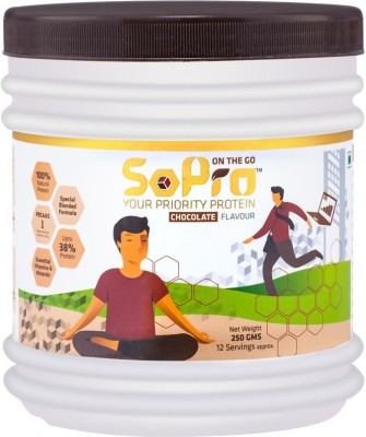 SoPro Nutri Whey Protein(0.25 kg, Chocolate)  available at flipkart for Rs.272