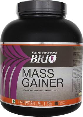 Brio Mass Gainer (3Kg, Chocolate)