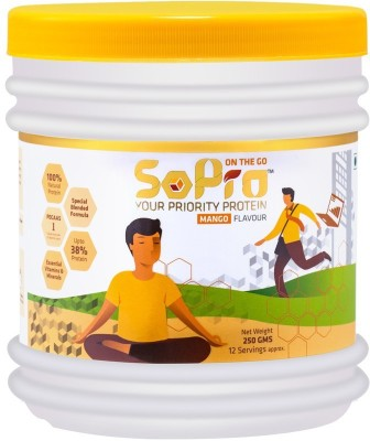 SoPro Nutri Whey Protein(0.25 kg, Mango)  available at flipkart for Rs.264