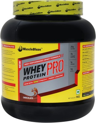 MuscleBlaze Whey Protein Pro Whey Protein(2 kg, Chocolate)