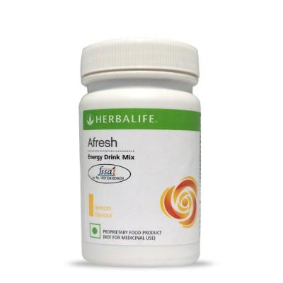Herbalife Afresh Energy Drink Mix - 50gms - Lemon Flavour Protein Blends(50 g, Lemon)