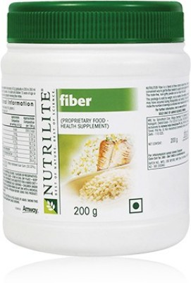 Amway Fiber Plant Based Protein- 200 gm, Unflavoured)
