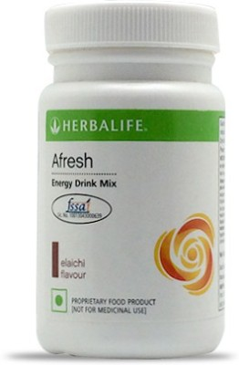 Herbalife Afresh Energy Drink Mix (50gm, Elaichi)