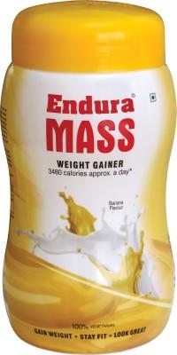 Endura Mass Weight Gainers/Mass Gainers(500 g, Banana)