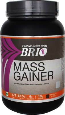 Brio Mass Gainer (1.5Kg, Chocolate)