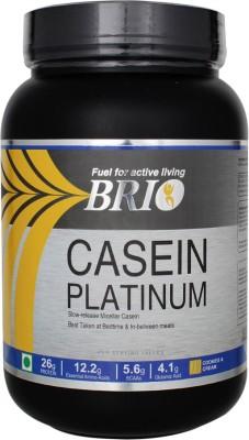 Brio Casein Platinum Casein Protein (1Kg, Cookies And Cream)