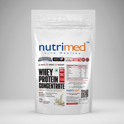 Nutrimed Whey Protein Concentrate (908gm, Kesar Badam Pista)
