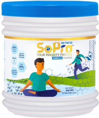 SoPro Nutri Whey Protein(0.25 kg, Vanilla)  available at flipkart for Rs.264