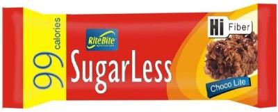 RiteBite Sugarless Chocolite Protein Bars(27 g, Choco Lite)