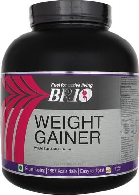 Brio Weight Gainer (3Kg, Banana)