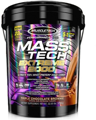 MuscleTech Mass Tech Extream 2000 Dietary Supplements (Chocolate, 9.98KG)