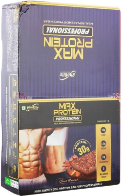 RiteBite Max Protein Professional Meal replacement Protein Bars(1200 g, Choco Almond)