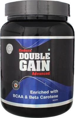 Endura Double Gain Advanced Mass Gainer (1Kg, Banana)