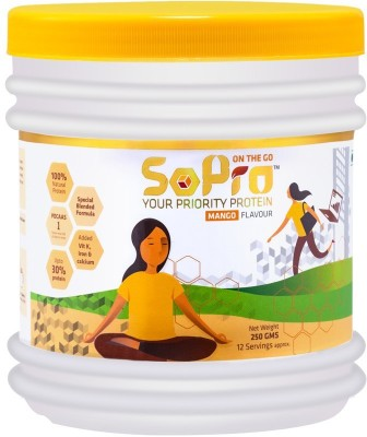 SoPro Nutri on the go women's Whey Protein(0.25 kg, Mango)  available at flipkart for Rs.264