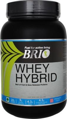 Brio Whey Hybrid (1Kg, Strawberry)