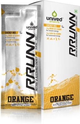 Unived Rrunn Pre Energy Sports Drink Mix (6 Servings, Orange)
