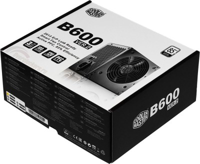 Cooler Master B600 V2 600 Watts PSU(Black)
