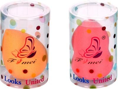 Looks United 2 Pc Makeup Beauty Foundation Sponge Blender Looks United Sponge
