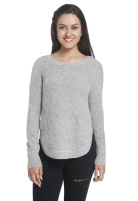 Only Round Neck Solid Women