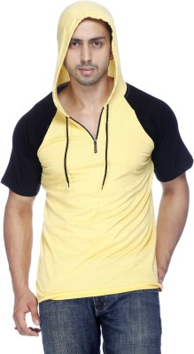 Demokrazy Round Neck Solid Men's Pullover