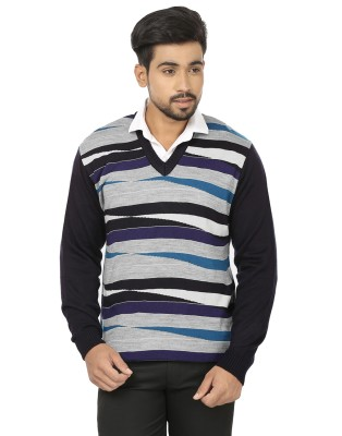 Spawn V-neck Striped Men's Pullover