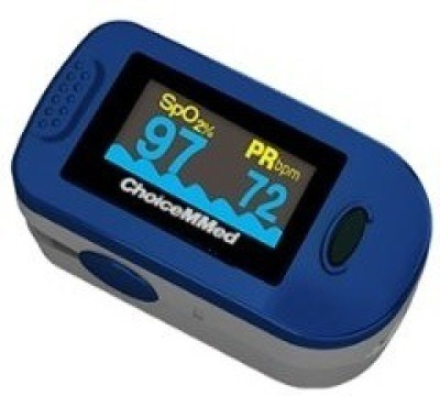 ChoiceMMed MD300C2 Pulse Oximeter(Blue)  available at flipkart for Rs.1300