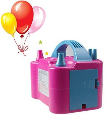 AliKing Inflator Pump Balloon Pump(Pink, Blue) at flipkart