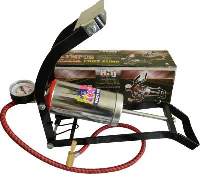 Raj Anmol Multipurpose Car, Bicycle, Motorcycle Pump(Multicolor)
