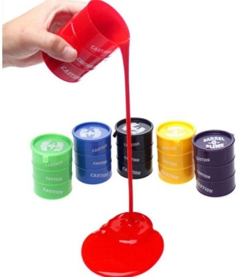 CATERPILLAR Barrel O Slime Pack of 5 Multicolor Putty Toy