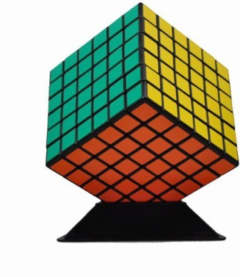 Shengshou 6x6 7cm Speed Cube Black Twisty Magic Puzzle 6x6x6(1 Pieces)