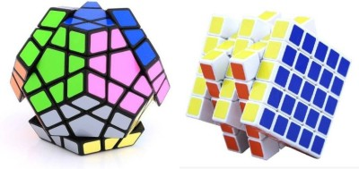 Mayatra's Shengshou Megaminx Puzzle & 5x5 Rubik Cube (2 Pieces)(2 Pieces)  available at flipkart for Rs.999