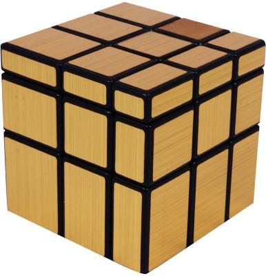 RR Enterprizes Mirror Cube Toy in Gold Color 2 Pieces RR Enterprizes Puzzles