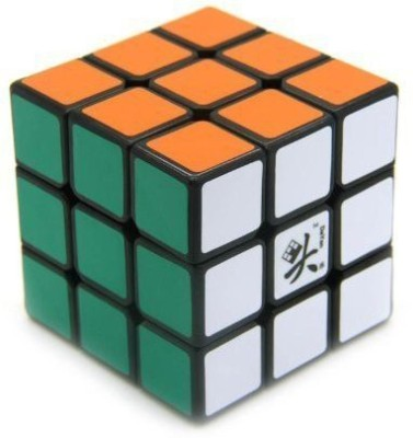 Dayan Zhanchi Speed Magic Cube Zhanchi 5V 3X3X3 Puzzle Cube (Black)(1 Pieces)  available at flipkart for Rs.777