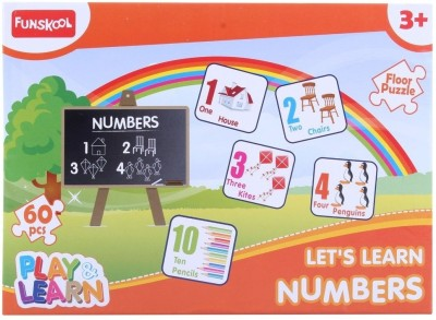 10 off on funskool world map puzzles educational game105 pieces 10 off on funskool numbers puzzles for kids60 pieces gumiabroncs Images