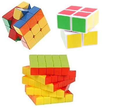 Mayatra's Combo of Shengshou Magic 2X2X2 WIth 5x5 Cube Magic Rubik Puzzle With A Free Cube Bag (3cube)(3 Pieces)  available at flipkart for Rs.949