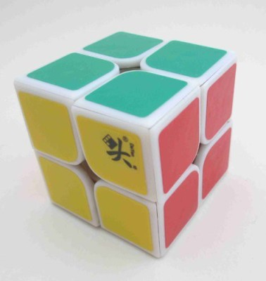 Dayan 2013 New Zhanchi 2X2 I White 46Mm Speed Cube 2X2X2 Puzzle(1 Pieces)  available at flipkart for Rs.1856